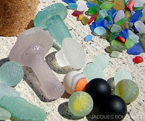 Finding Sea Glass 101- Ever wonder how and where to find sea glass? Pieces can be found on beaches all over the world, but some stretches of sand will be better than others. This article by Jacques Bouchard tells you how, when, and where to start your search. Happy hunting!