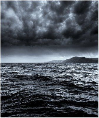 Awesom Storm Front That Darkened >> Dark Sky Art I Adore In 2019 Stormy Sea Storm Photography Sea