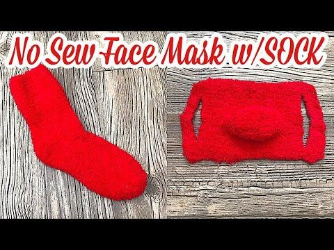 Photo of How to Make a DIY Face Mask using a SOCK NO SEWING | EASY FAST SOCK MASK DIY