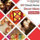 #diyhomedecor | Schauen Sie sich einige schnelle und einfache DIY Diwali Dekor Ideen für Ihre...