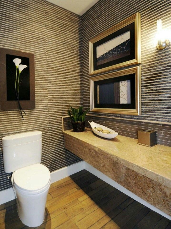 half bathrooms ideas and powder rooms to inspire your own bathroom renovation with designs ideas and pictures - Half Bathroom Design Ideas