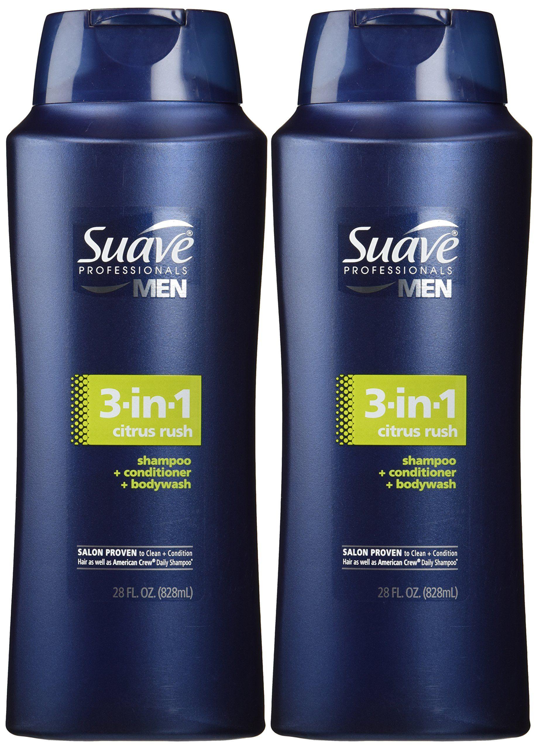 0bdf0645761e Suave Men 3 in 1 Shampoo Conditioner and Body Wash Citrus Rush 28 ...