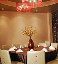 Private Dining Room At Lucy Restaurant