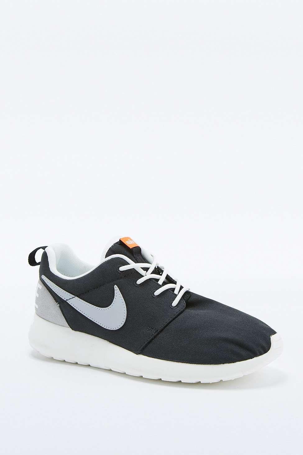20c425507d46 Nike Roshe Run Retro Black and White Trainers   C L O T H E S ...