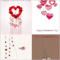 vetor bonito do dia dos namorados romântico cartão