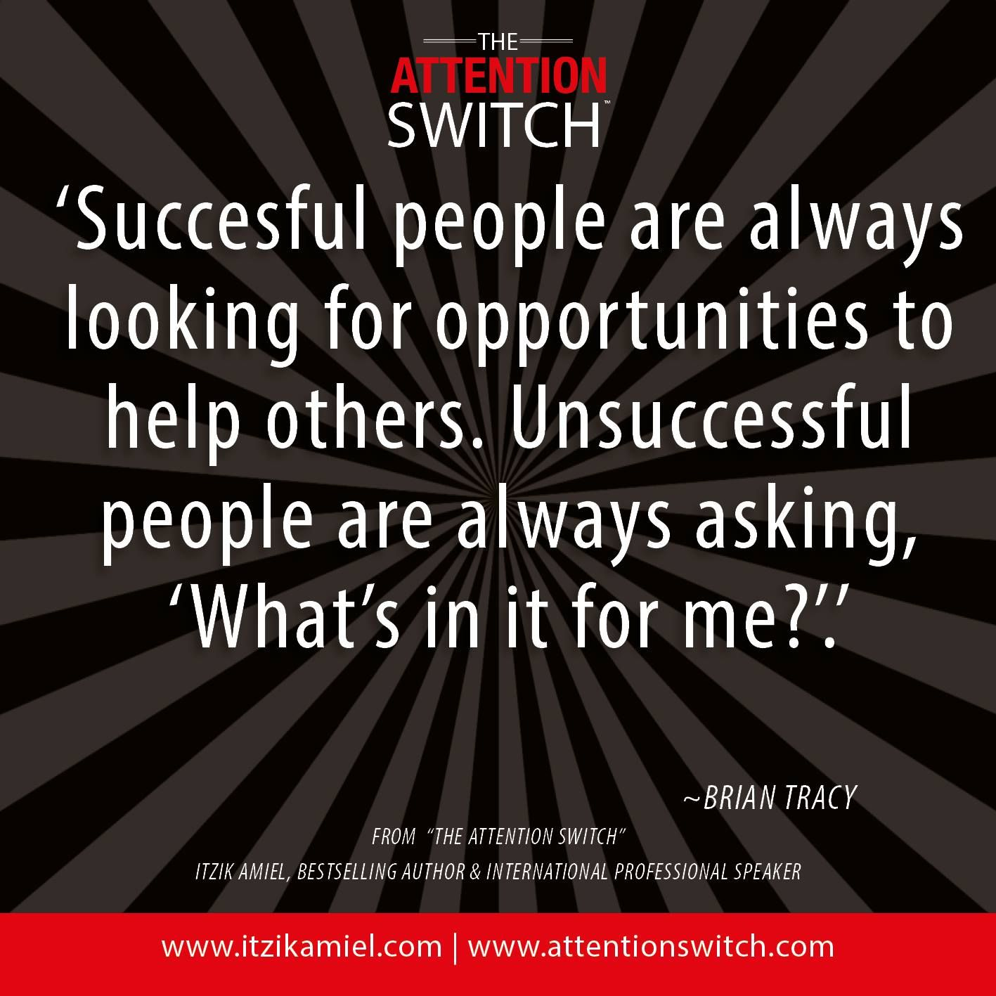 Success And Unsuccess Quotes: 'Successful People Are Always Look For Opportunities To