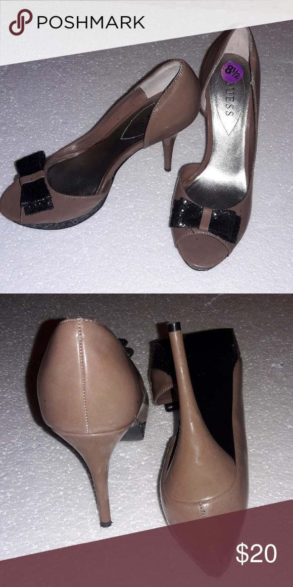 0e2957ff3 🔆Guess Shoes 🔆 LOWEST PRICE POSSIBLE Women s Guess high heels with  sparkling bow Guess Shoes Heels