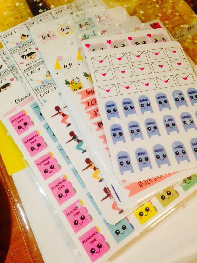 Biko planner stickers