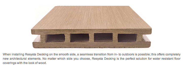 Resysta Decking Color To Match Interior Floors Interior Floor Outdoor Living Space Living Spaces