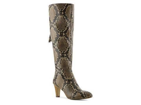 146a5a2127e7 Bandolino Wendaw Wide Calf Snake Boot