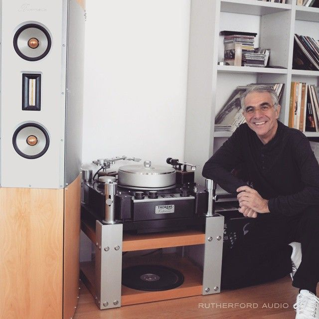 Burmester the man, the machine and his Thorens reference