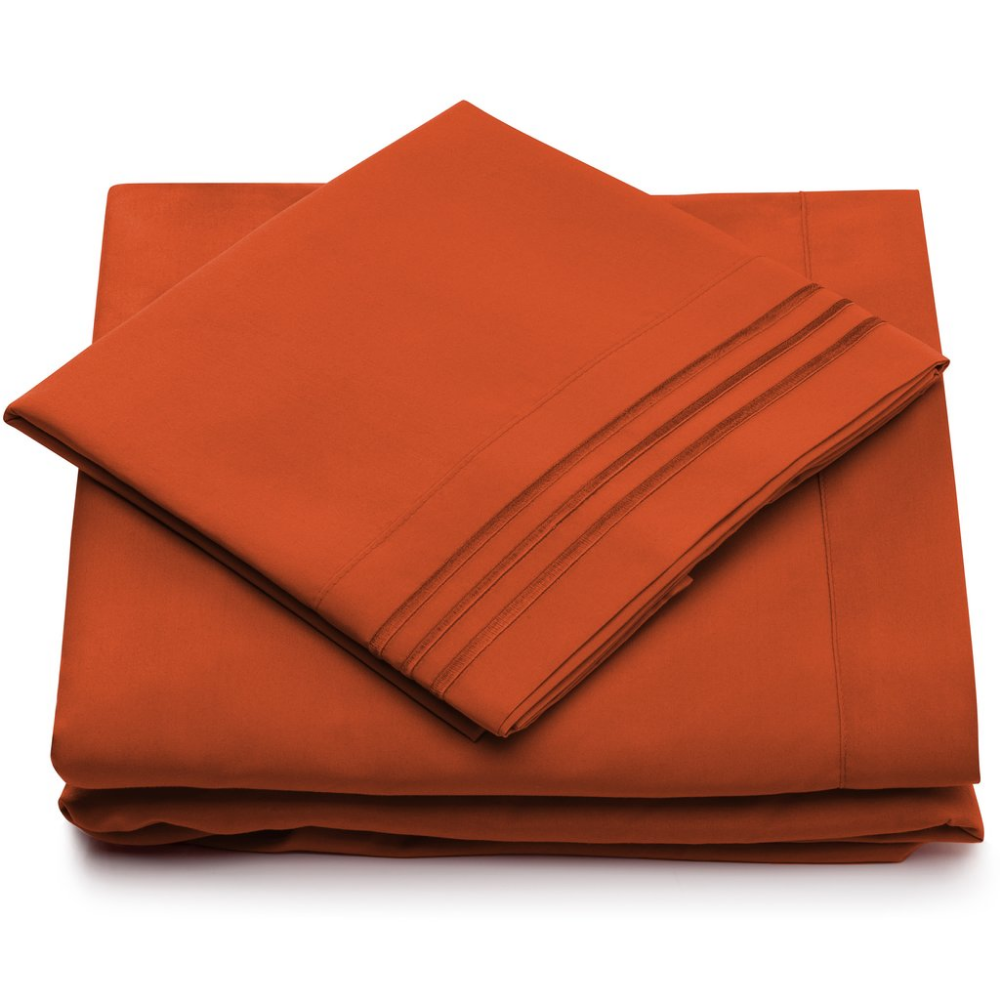 1500 Series Bed Sheets Split King Size Queen sheets