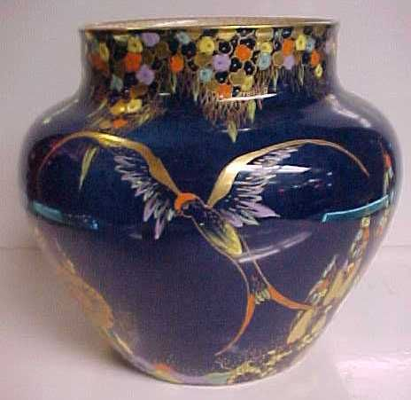 Carlton Ware Blue Vase Vases Pinterest Ware Fc Pottery And