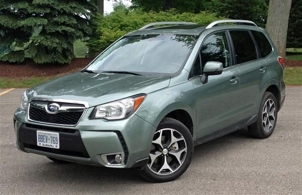 2014 Subaru Forester Green   Subaru   Pinterest   More ...