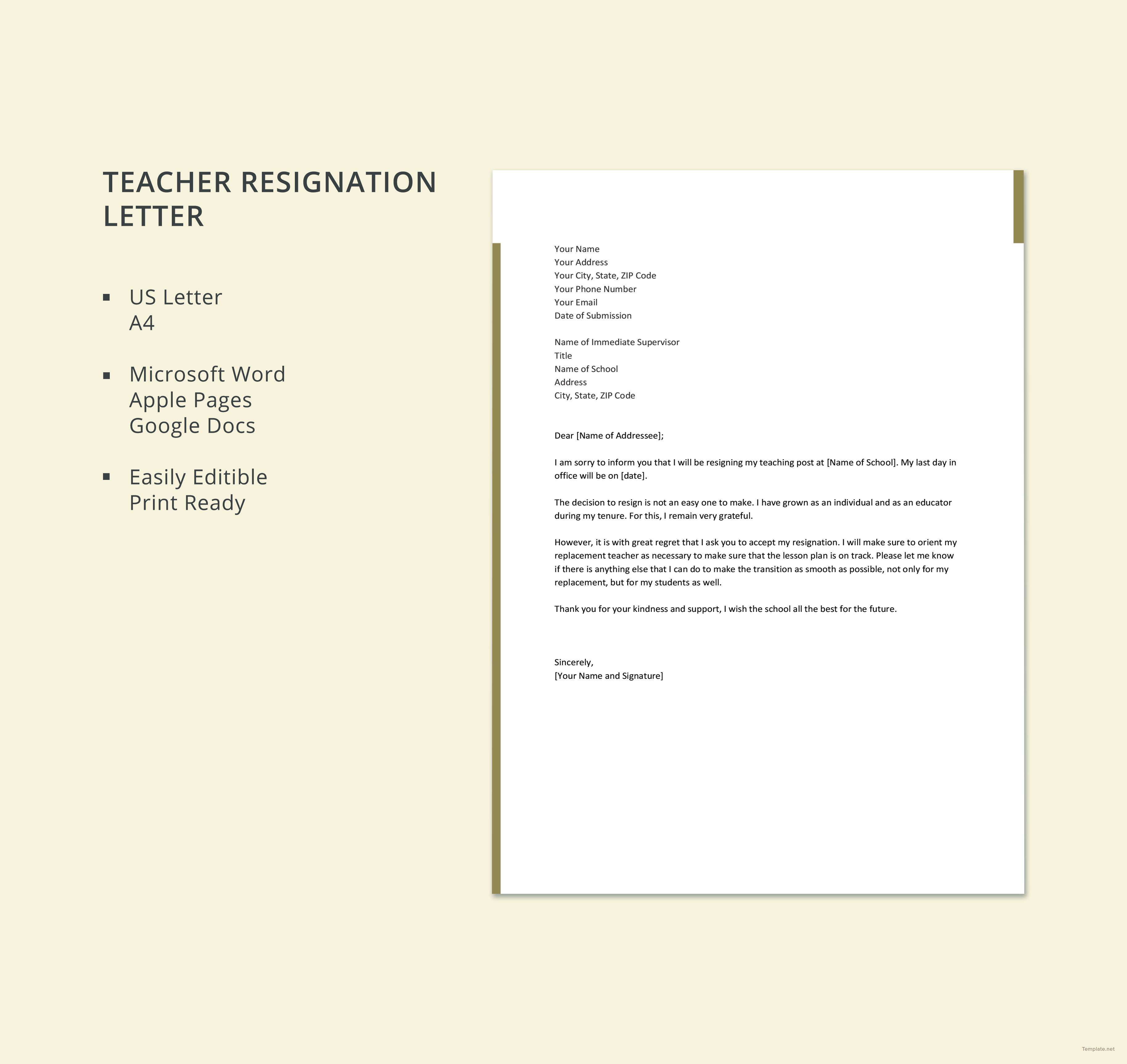 Letter Templates Free Download (6) TEMPLATES EXAMPLE