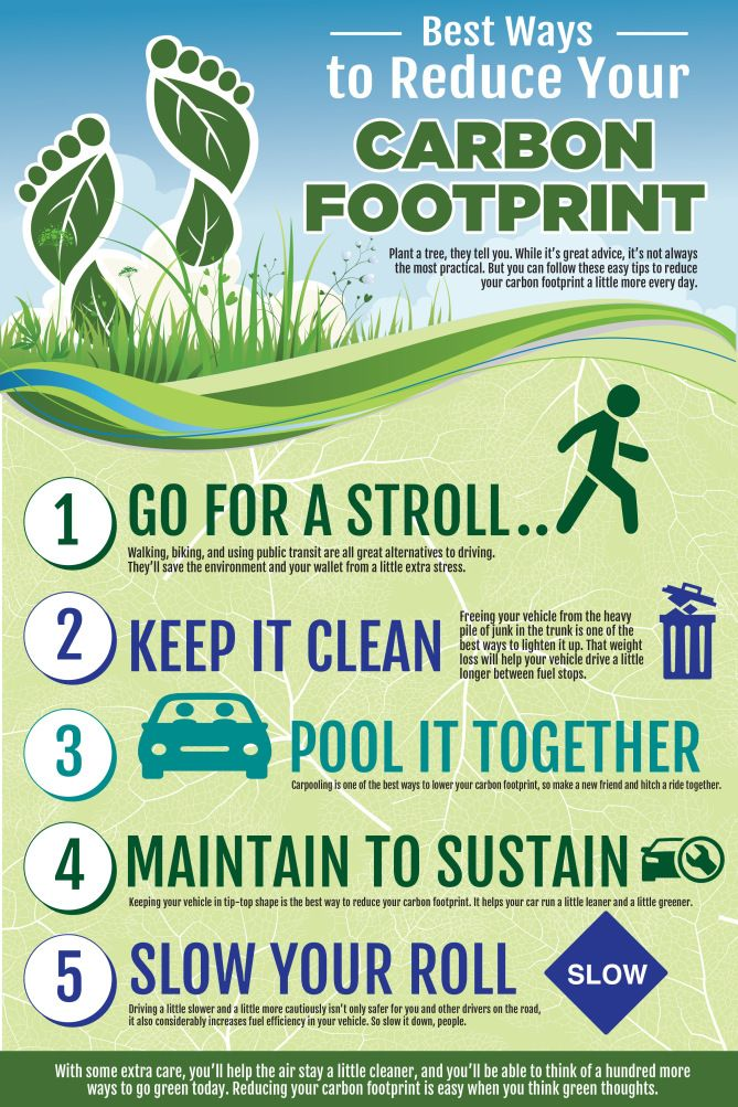 Image result for reducing carbon footprints