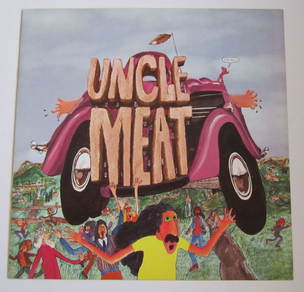 Frank Zappa The Mothers Of Invention Uncle Meat Us Double