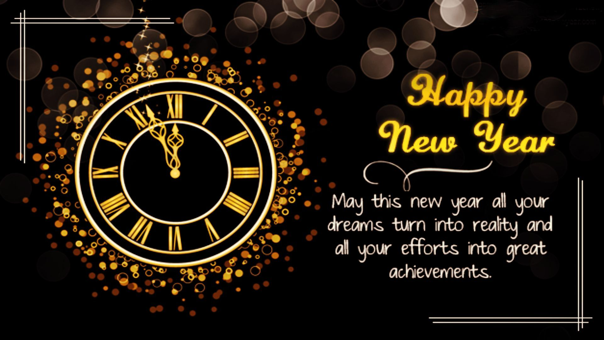 45 Beautiful Happy New Year Wallpapers Hd Alla Pinterest