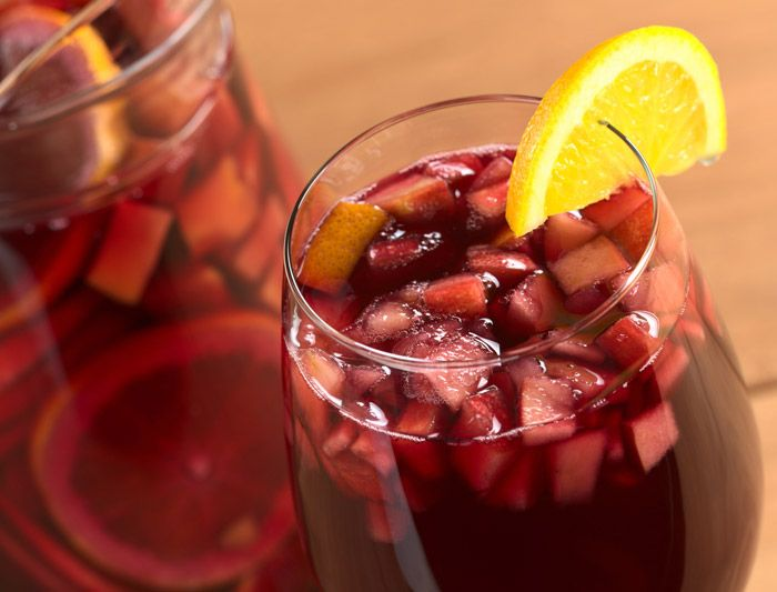 Refreshing Sangria!
