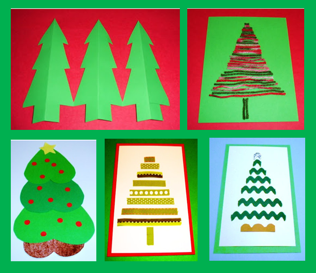 Delightful Inexpensive Christmas Craft Ideas Part - 12: Here Is A Selection Of Fun, Inexpensive, Christmas Tree Crafts To Make With  The Kids.