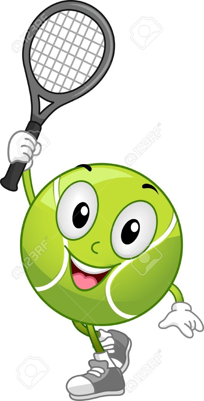 Tennis Cartoon Stock Vector Illustration And Royalty Free Tennis Cartoon Clipart Tennis Pictures Tennis Quotes Tennis Quotes Funny