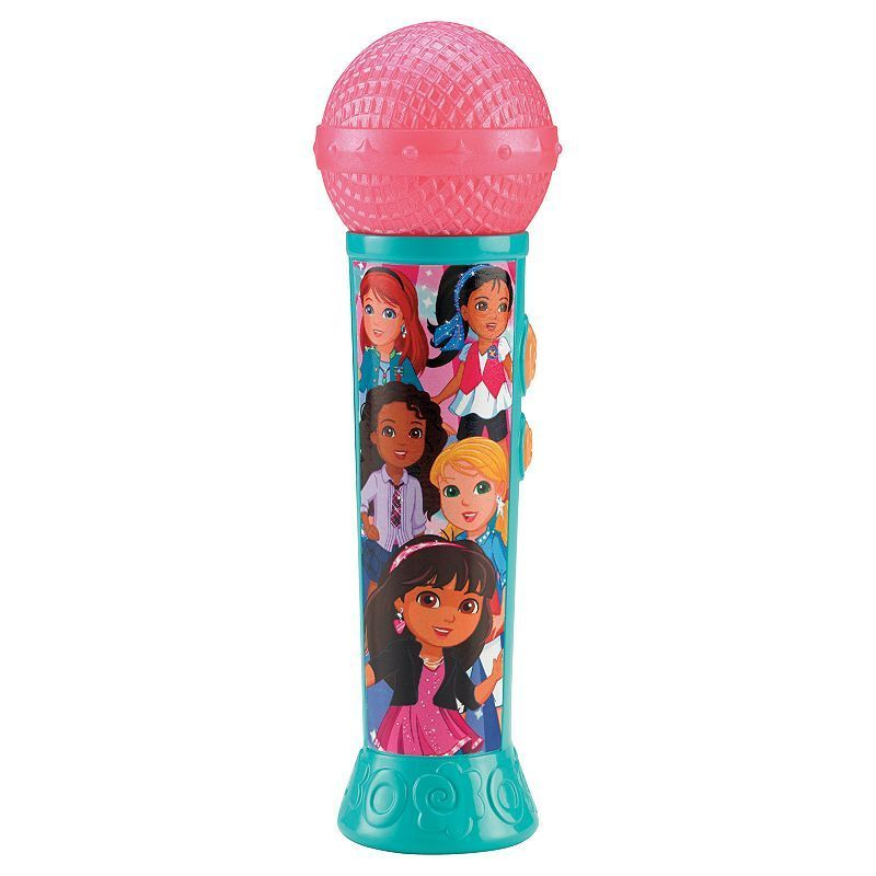Dora and Friends Sing It Together Microphone by Fisher-Price, Multicolor
