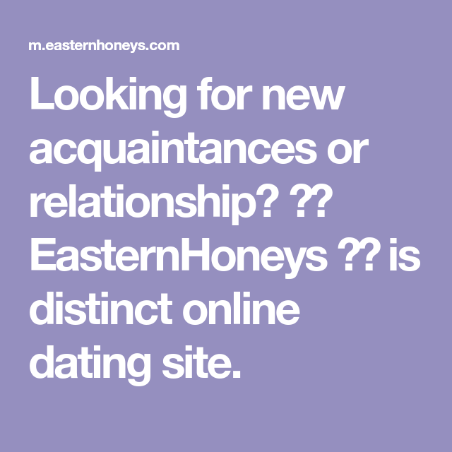Acquaintances dating site online dating when to meet in person