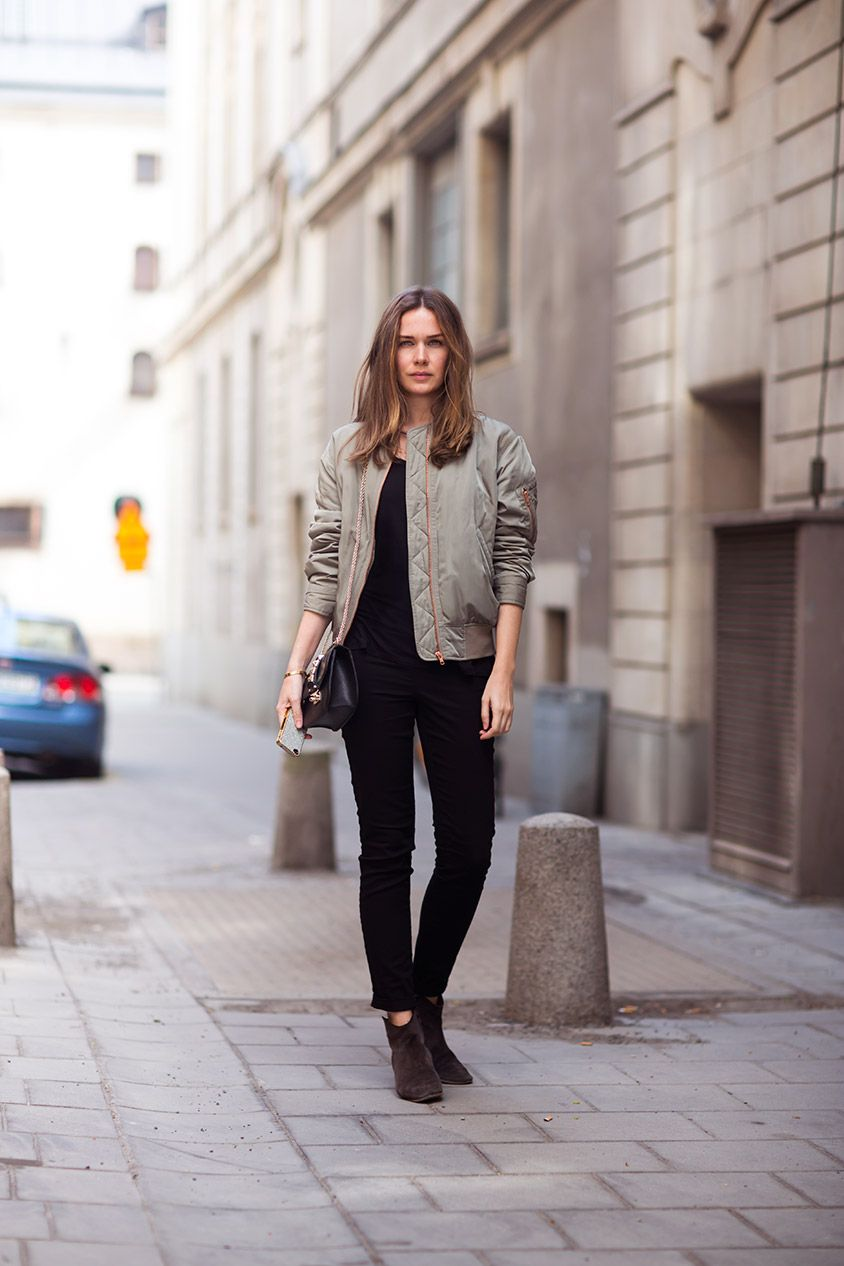 36f7927c streetstyle-bomberjacket | Clothes and other nonsense | Fashion ...