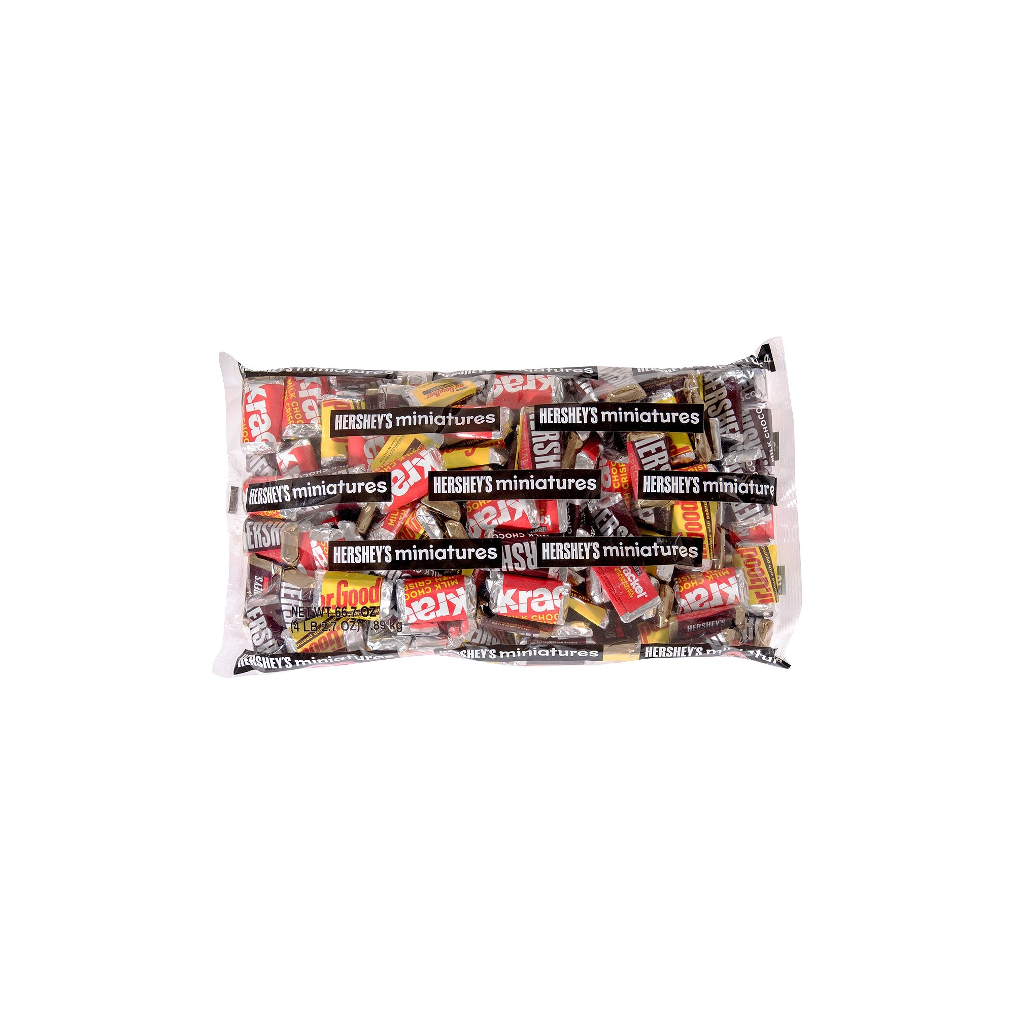 Hershey's Miniatures Variety Bag - 66.7oz