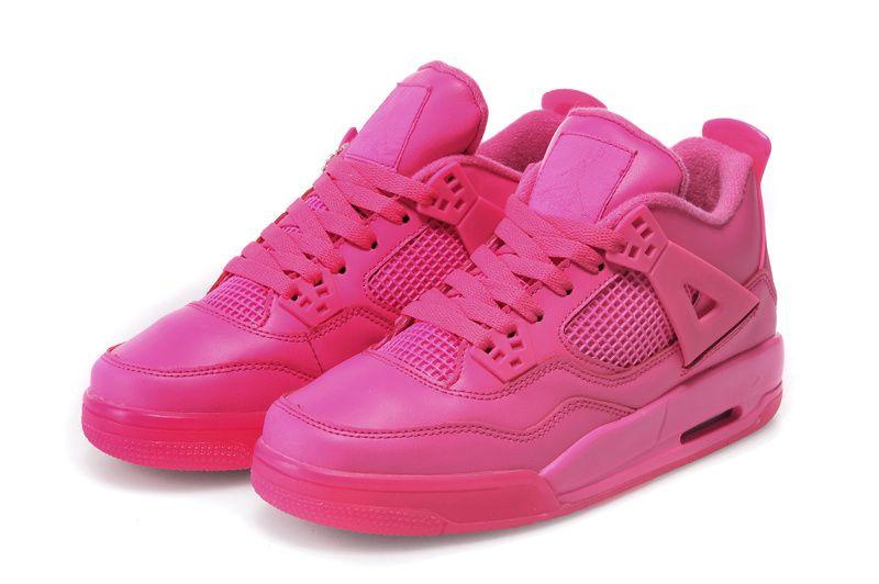 Buy Cheap Air Jordan 4 Womens All Pink