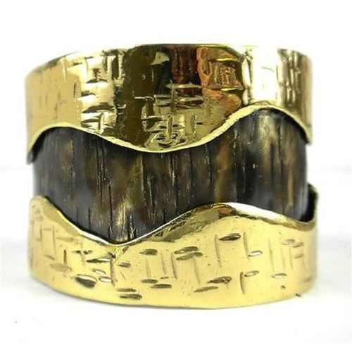 Road Less Traveled Cuff - Brass Images (C)