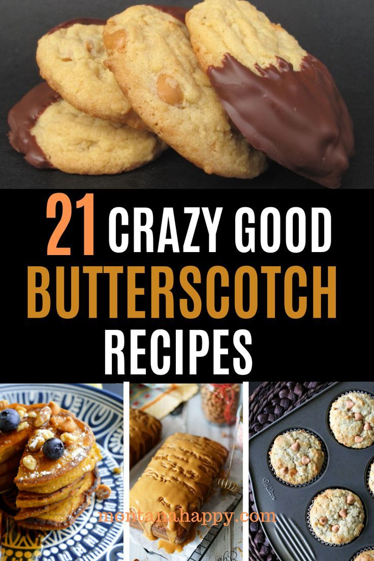 Easy Homemade Butterscotch Recipes Easy Homemade Butterscotch Recipes - pies, cookies, cake, pudding and bread are all featured in this list of the best recipes.