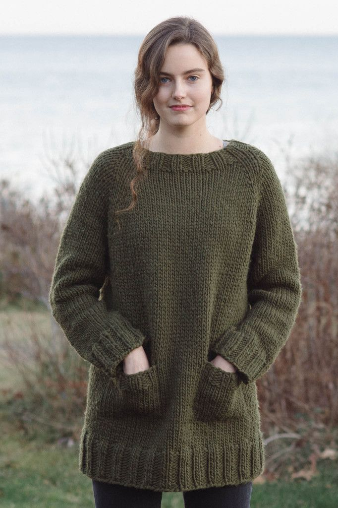 great falls by pam allen / in quince & co. puffin | Sweater dos ...