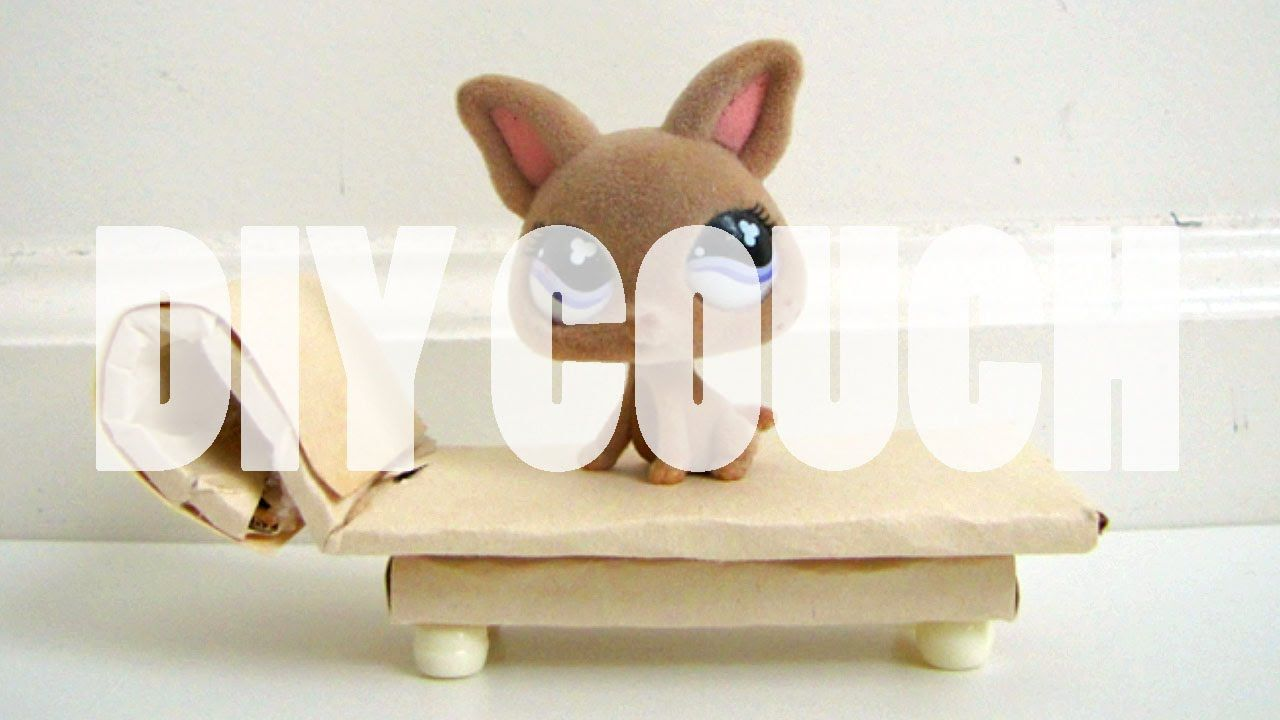 DIY Furniture: How To Make A LPS Lounge Chair/Couch