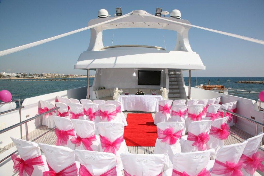Splendidsummer Feeling Lucky To Attend A Yacht Wedding Yacht Wedding Yacht Wedding Reception Tiffany Blue Wedding Theme