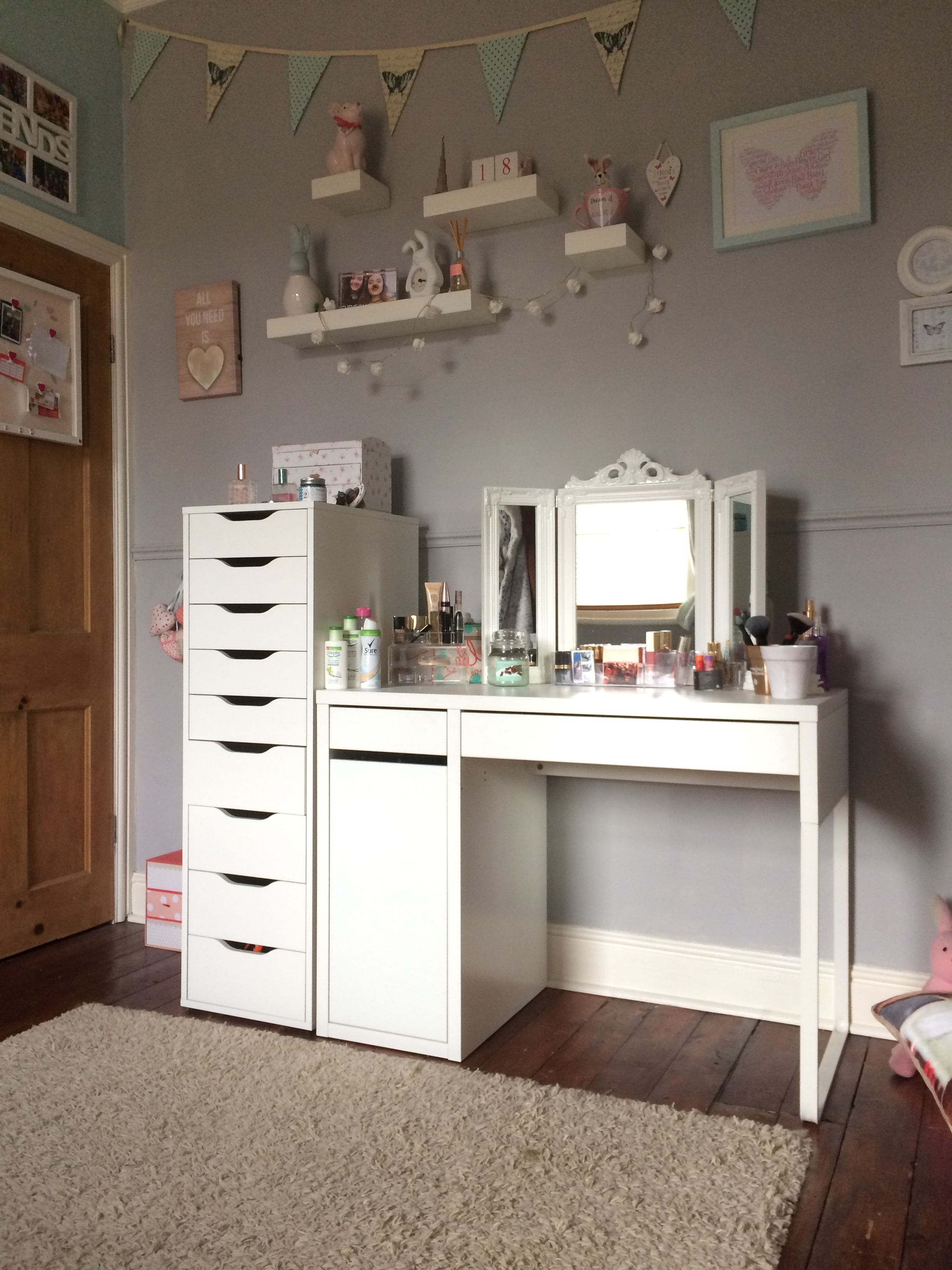 Teen bedroom ikea bobbies room pinterest for Ikea teenage bedroom ideas