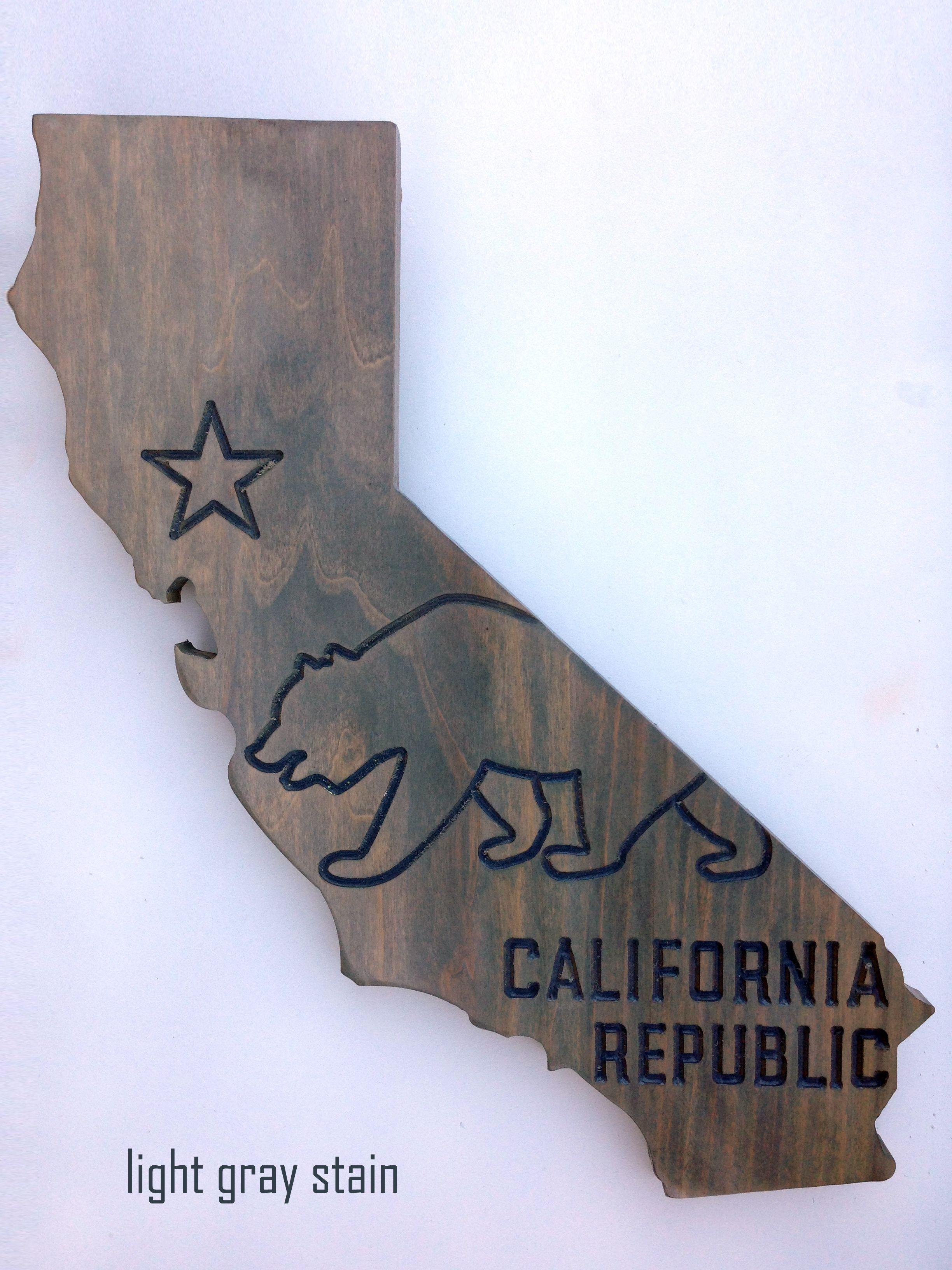 Pix For u003e California State Silhouette With