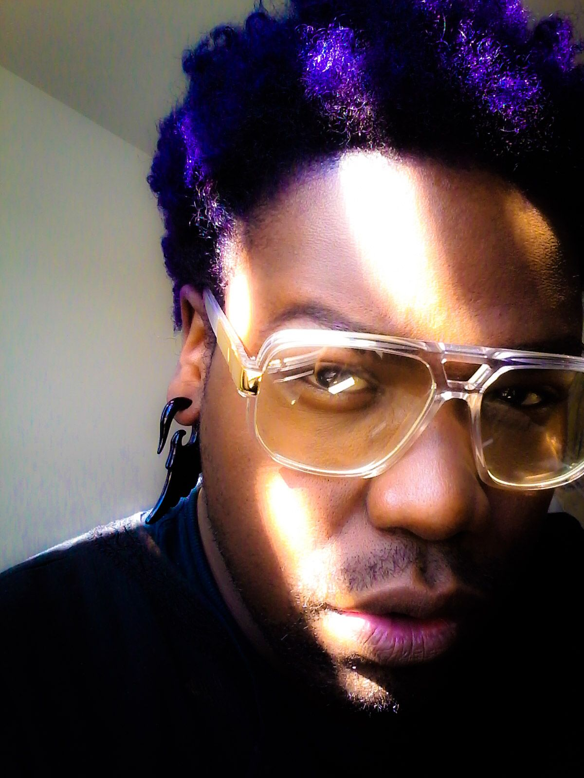 Purple Passion #Purple #Grape #Natural Hair #Nappy #Natural #Manicpanic #