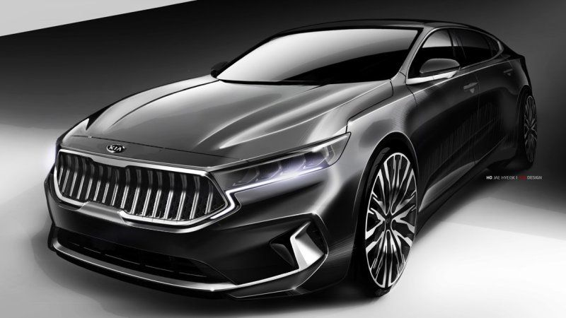 Kia Teases The Distinctively Designed K7 Aka The Cadenza Sedan Compact Suv Kia Suv