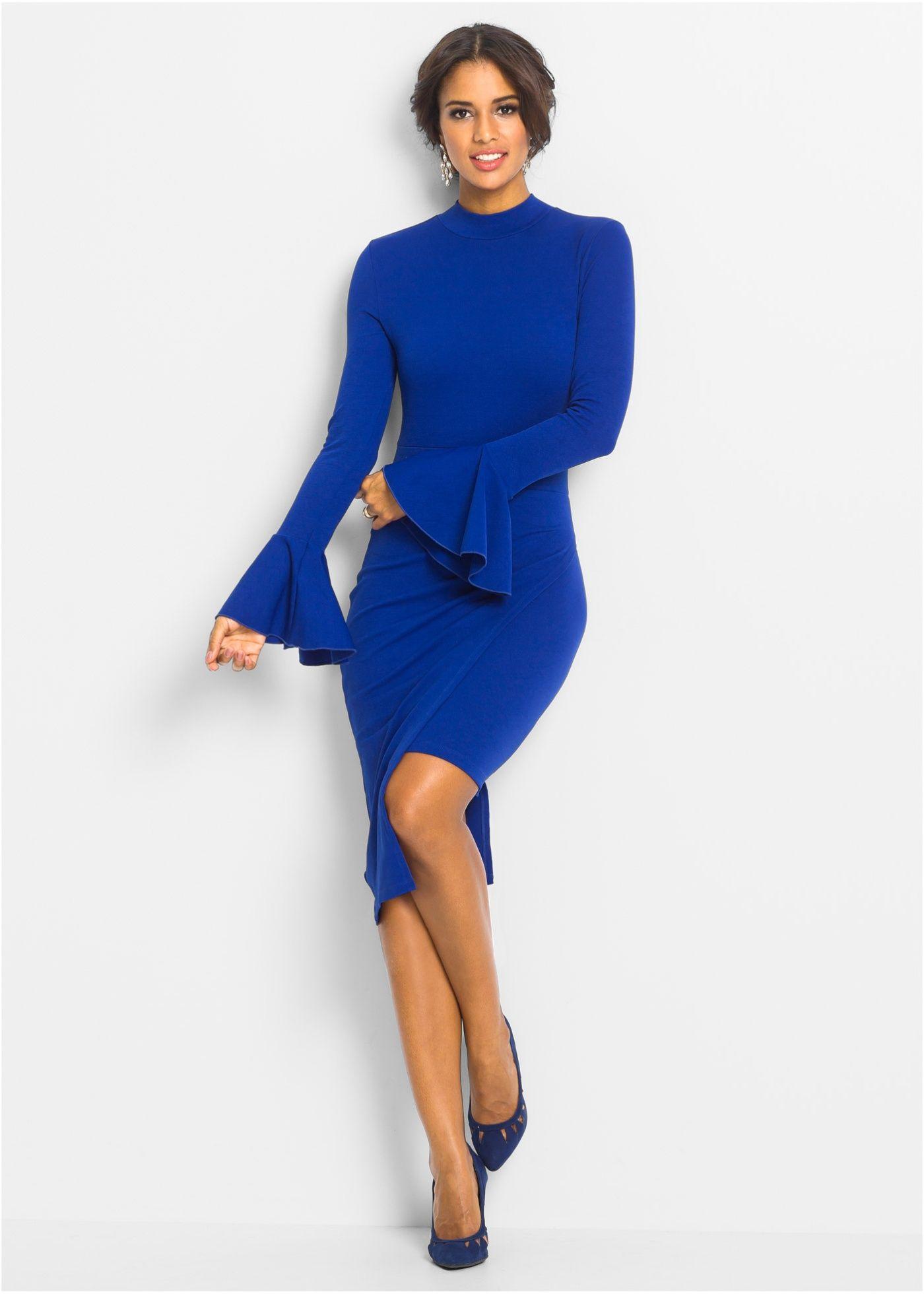 Elegante kleider blau