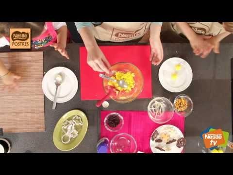 Pollitos de Pascua ! Video Taller Monas, huevos y figuritas de Pascua ! Nestlé Postres