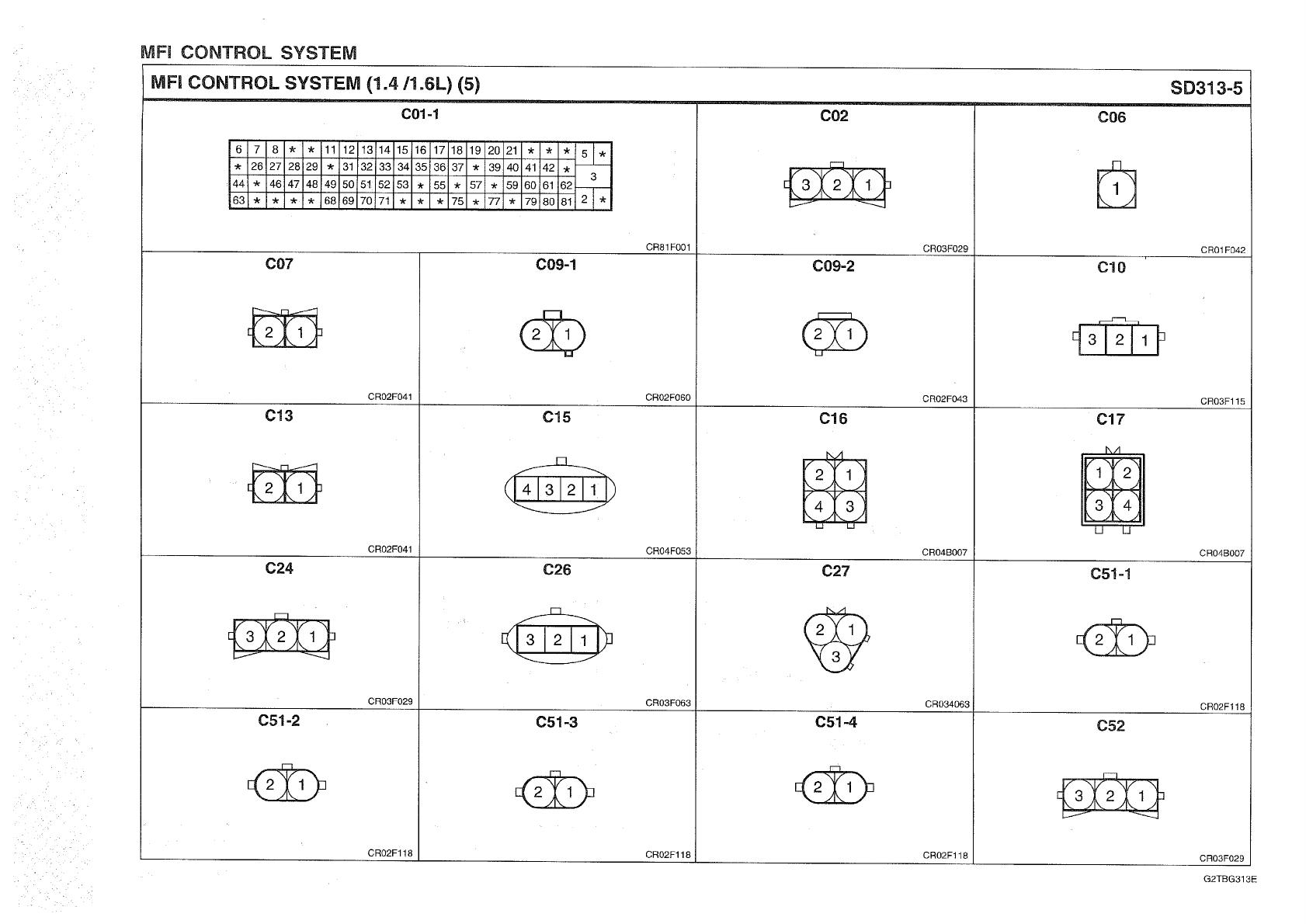 Hyundai Getz 2005 Workshop Manual ETM PDF