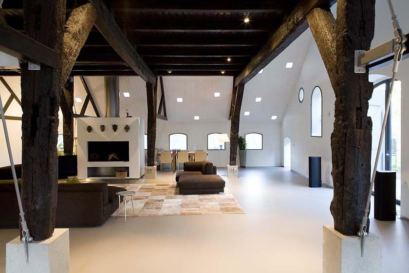 Referenties boerderij architectuur boerderij modern interieur pinterest boerderij - Huis interieur architectuur ...