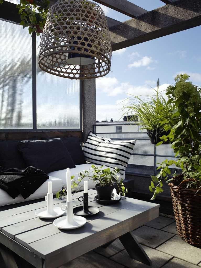 Décoration balcon et aménagement réussi   50 idées fraîches ...