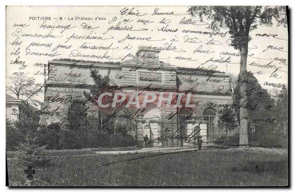 Poitiers Le Chateau d'eau