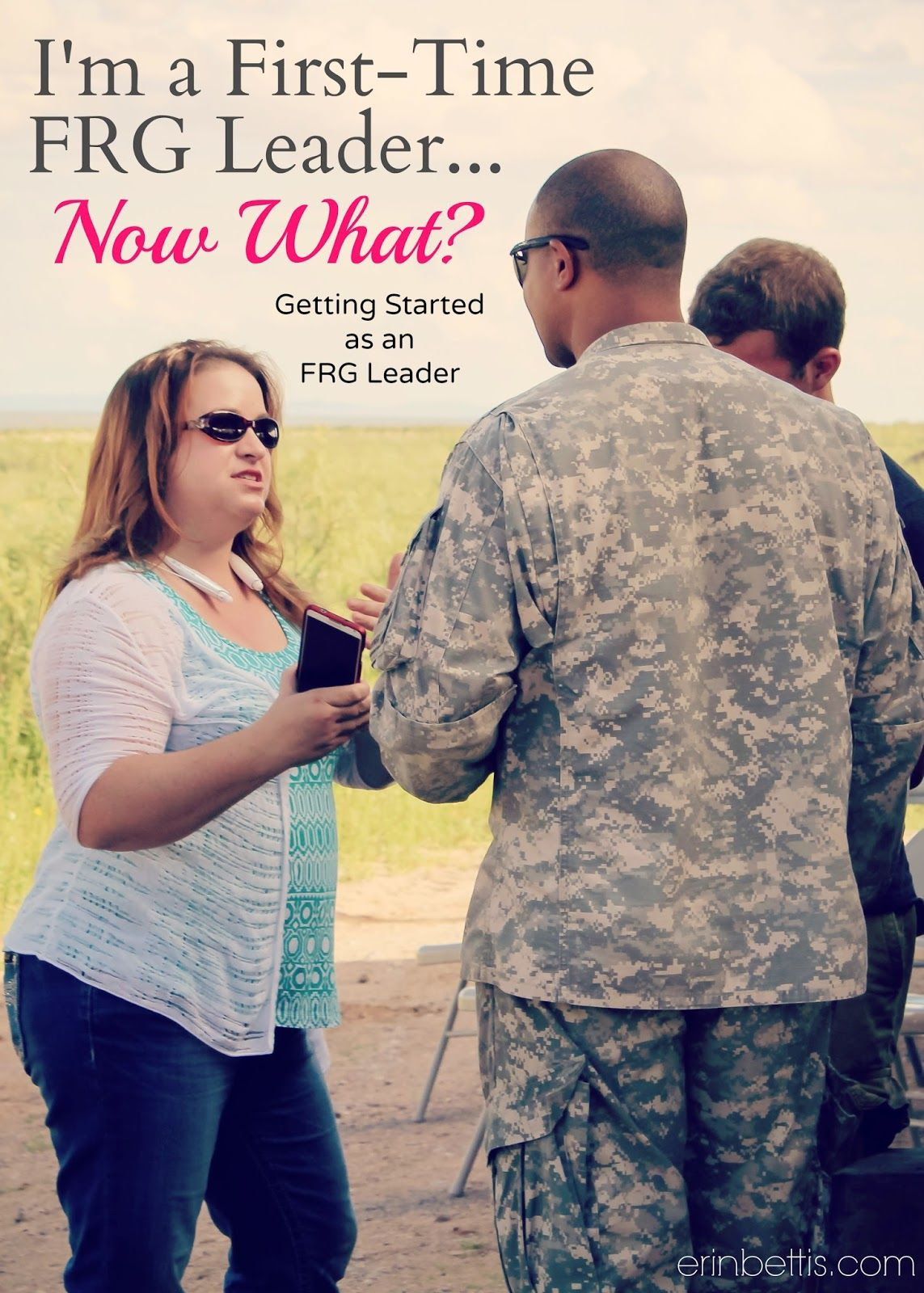 What steps to take as a first-time FRG (Family Readiness Group ...