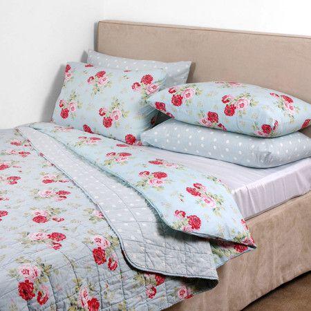 Cath Kidston Antique Rose Bouquet Duvet Cover Duck Egg Double Bed Linen Design Luxury Duvet Covers Bed Linens Luxury