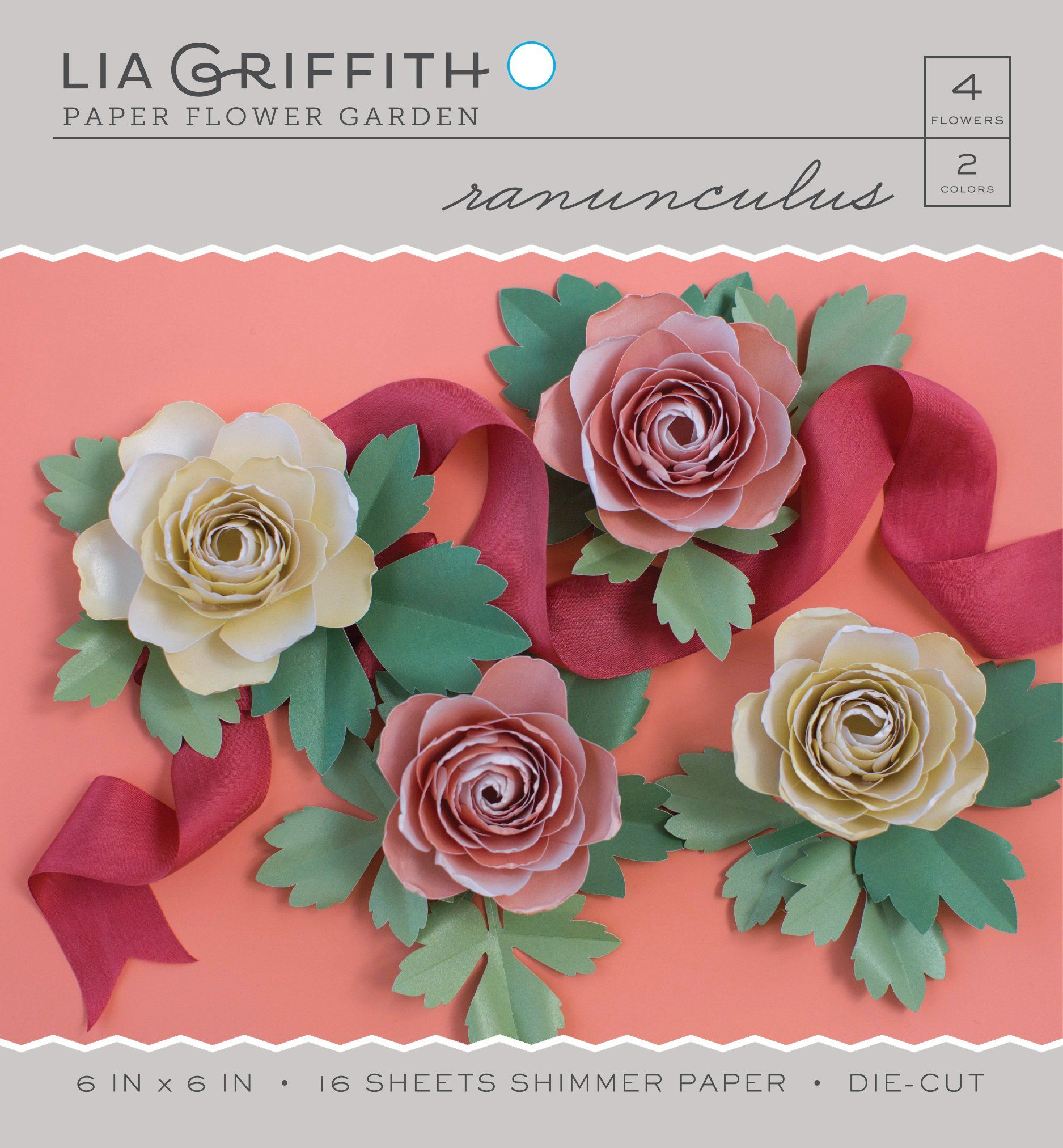 Bring The Outdoors In With Our Easy To Assemble Paper Ranunculus Kit
