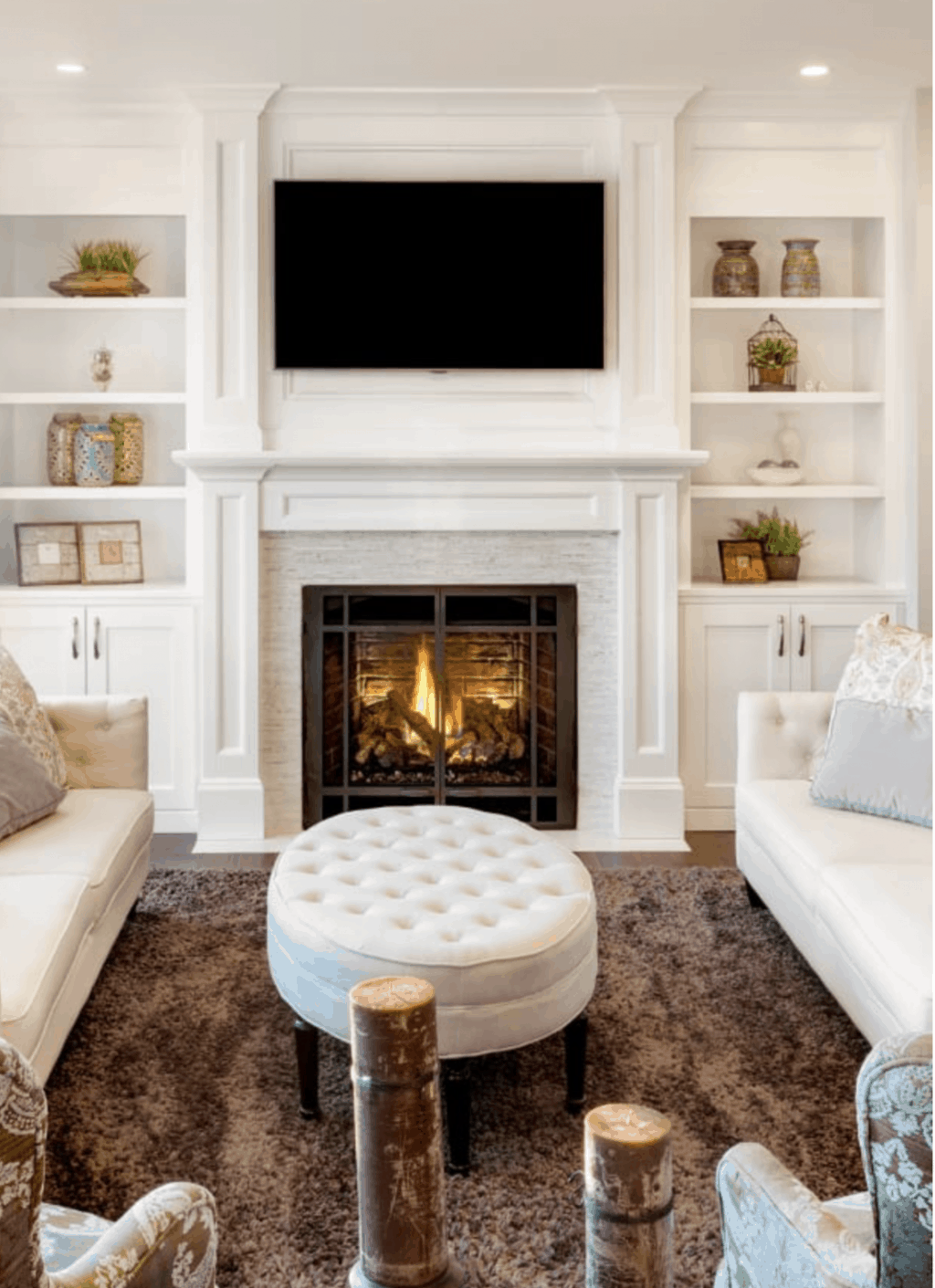 Mantel Decor With A Tv How To Pull It Off Home Decor Styles
