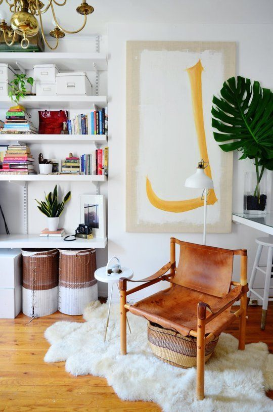 An Eclectic Modern Mini 288 Square Foot Brooklyn Studio Studio Apartment Living Studio Apartment Design One Bedroom Apartment